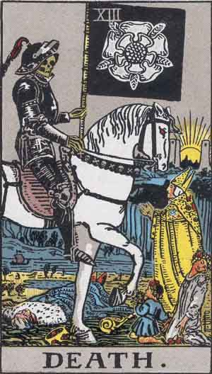 The Tarot card, Death and Transformation